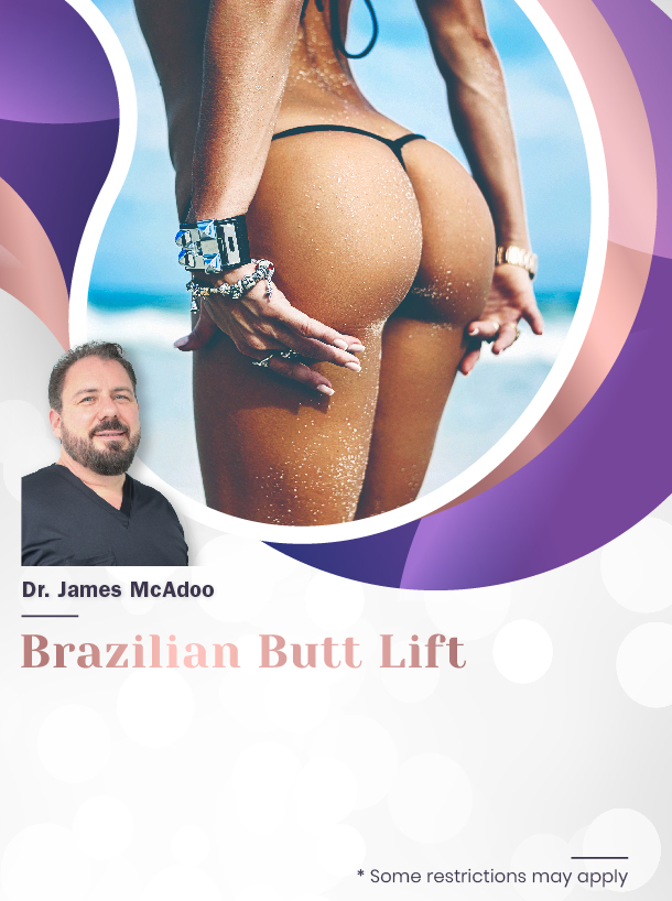 Brazilian Butt Lift with Dr. McAdoo for $5,100 Special Image