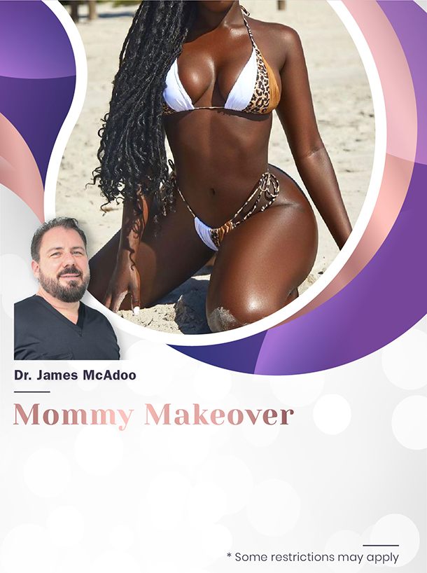 Mommy Makeover with Dr McAdoo for $7,500 Special Image