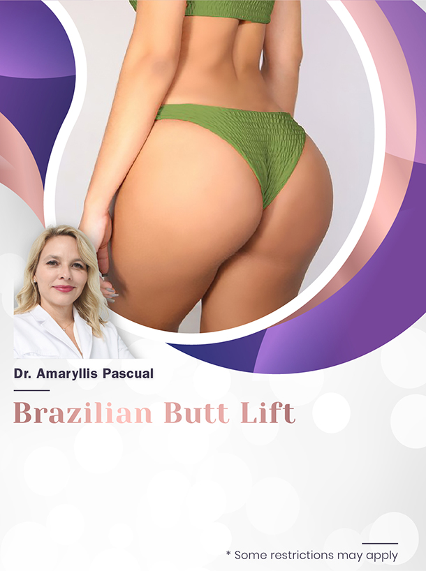 Brazilian Butt Lift With Dr. Pascual For $4,200 Special Image