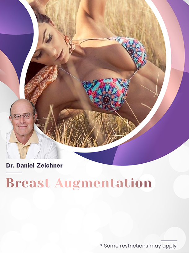Breast Augmentation with Dr. Zeichner for $4,500 Special Image