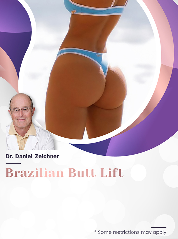 Brazilian Butt Lift with Dr. Zeichner for $4,500 Special Image