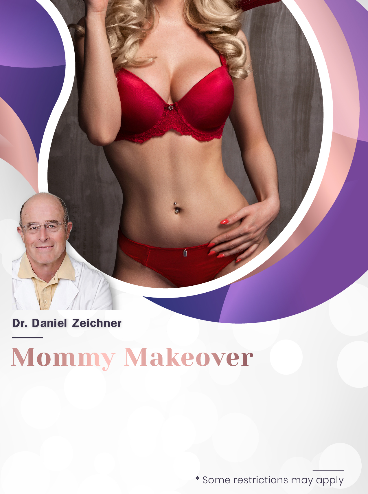 Mommy Makeover with Dr Zeichner for $7,500 Special Image